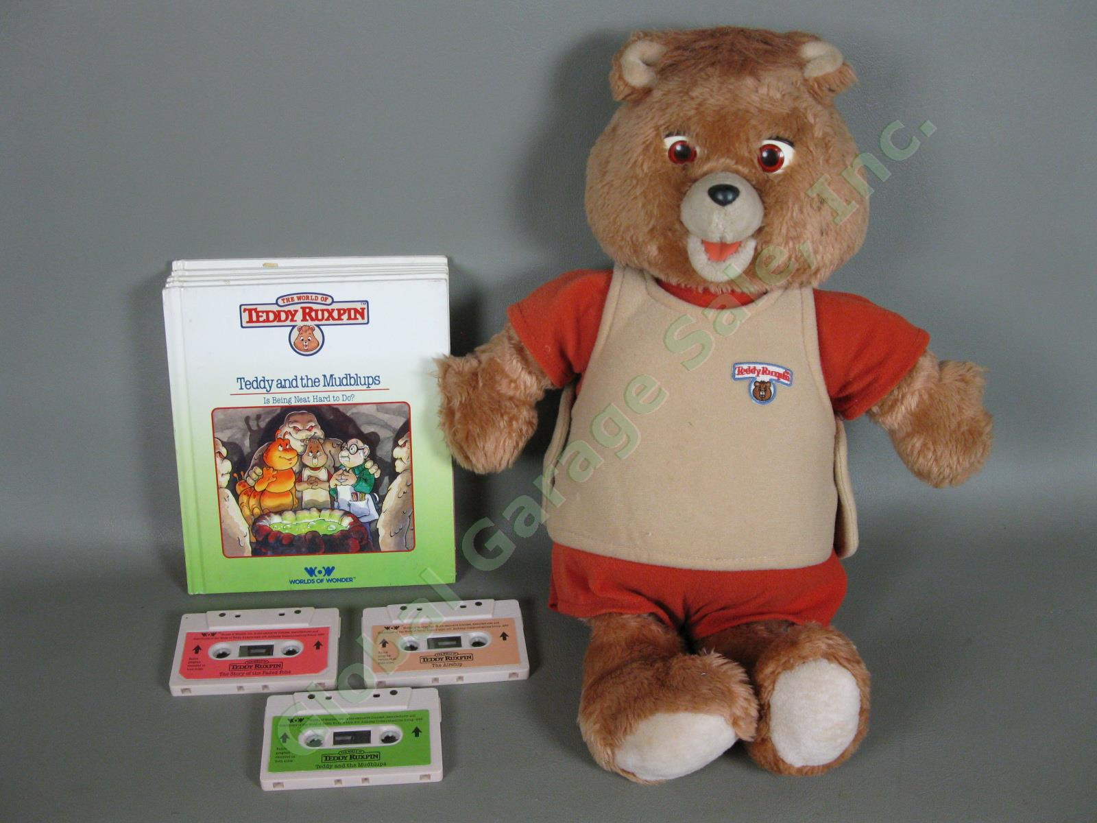 Teddy Ruxpin Book and Tape Take a good Look