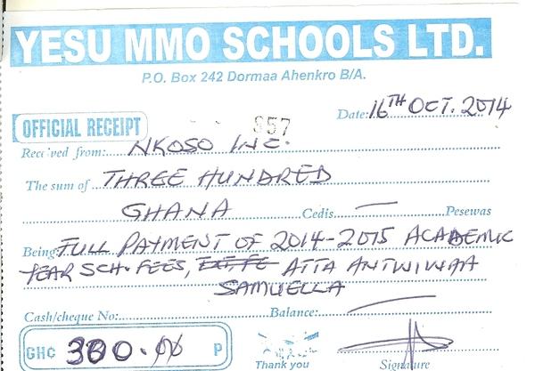 2014 2015 schoolreceipt samuella