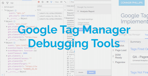 Google Tag Manager Debugging Tools