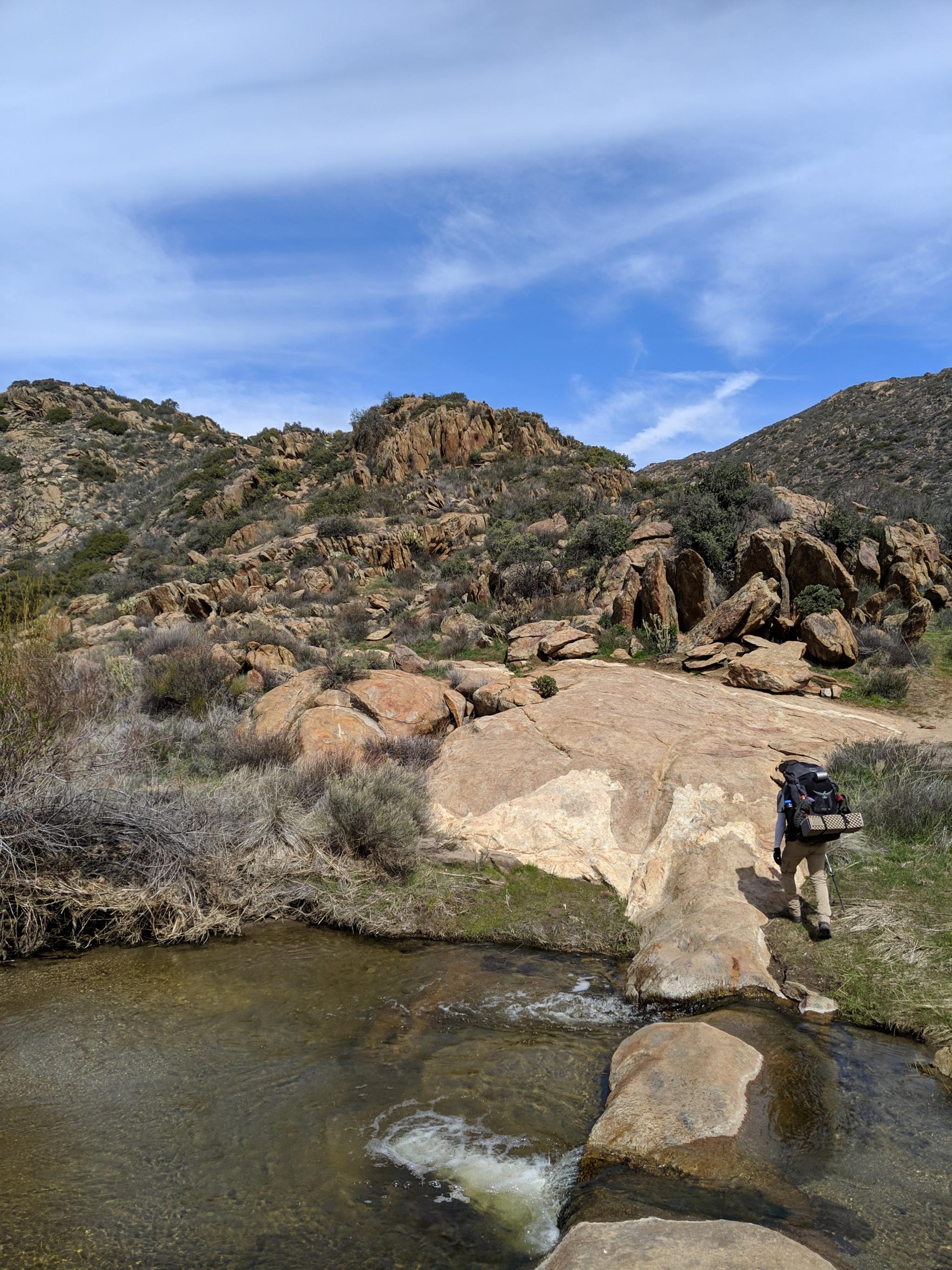 Une des sources d'eau • One of the water source