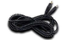 Coiled Headphone Cable