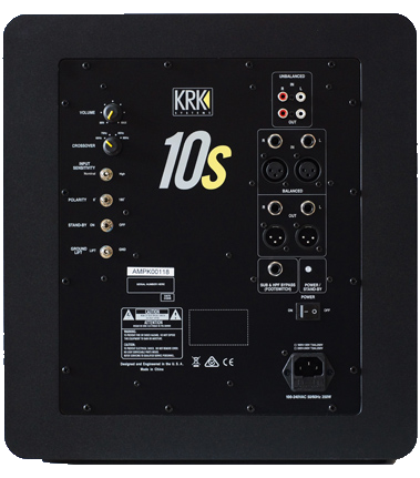 KRK SYSTEMS - 10s Powered Studio Subwoofer