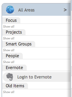 Login to Evernote