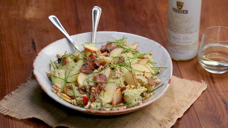 Christmas wines Giesen Sauvignon Blanc - Xmas Summer Salad