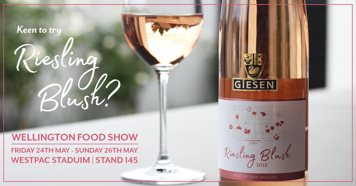 Taste Riesling Blush at the Food Show