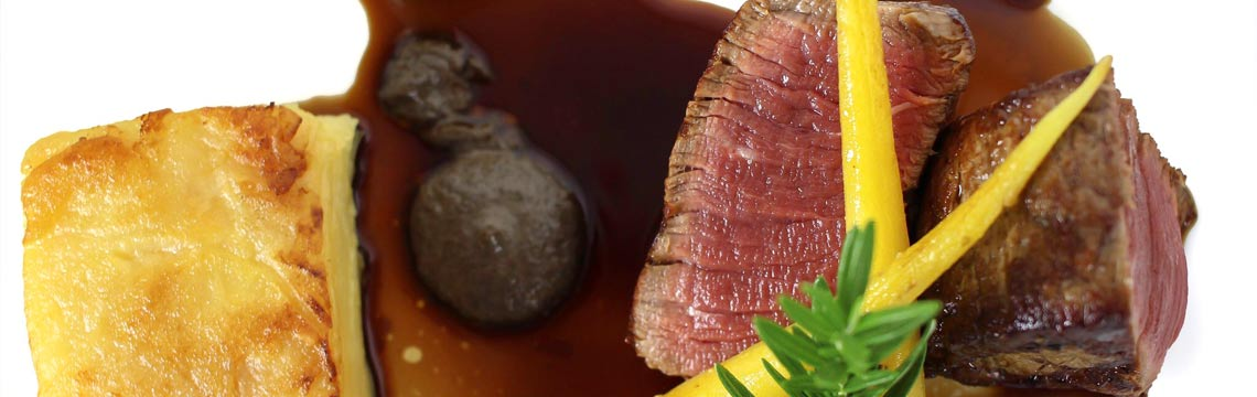 Eye fillet with a Mushroom Jus image