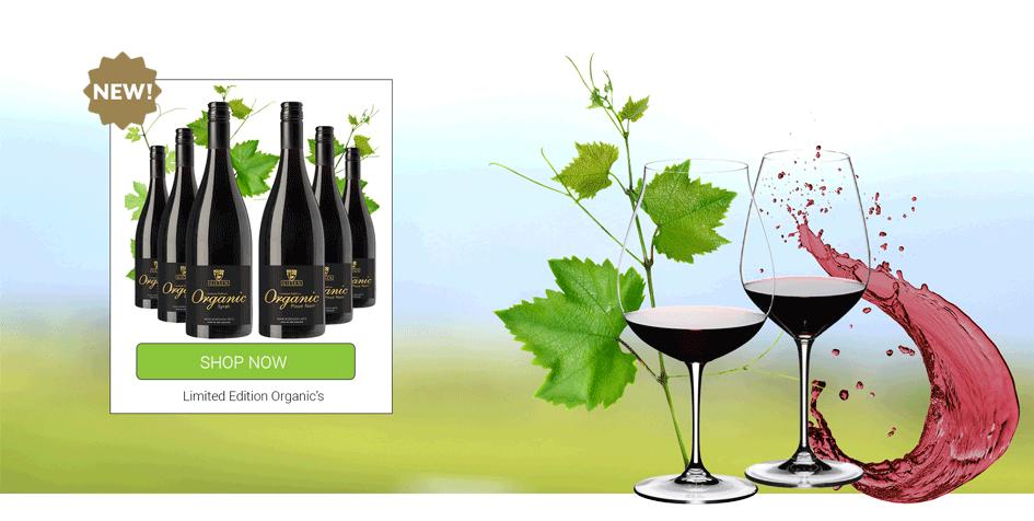 Giesen NZ Organic Red Wine - Syrah & Pinot Noir