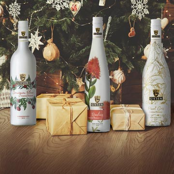 Christmas wine gifts all wrapped up for you image