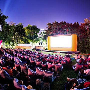 Openair Cinema Auckland image