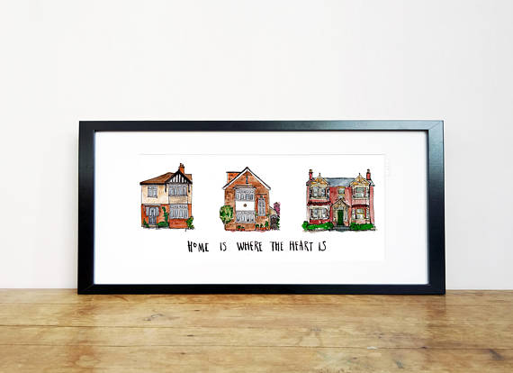 Personalized Building Illustrations