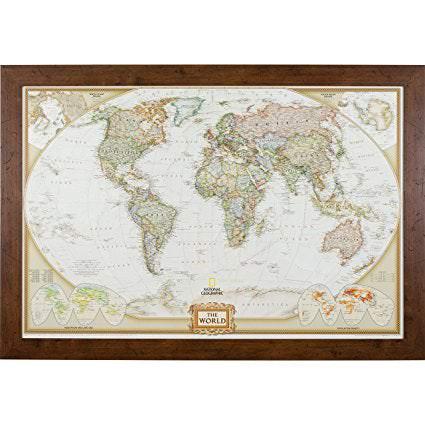 Pushpin World Map
