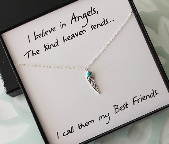 Best Friend Necklace & Card