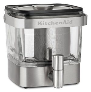 KitchenAid KCM4212SX Cold Brew Coffee Maker, Brushed Stainless Steel