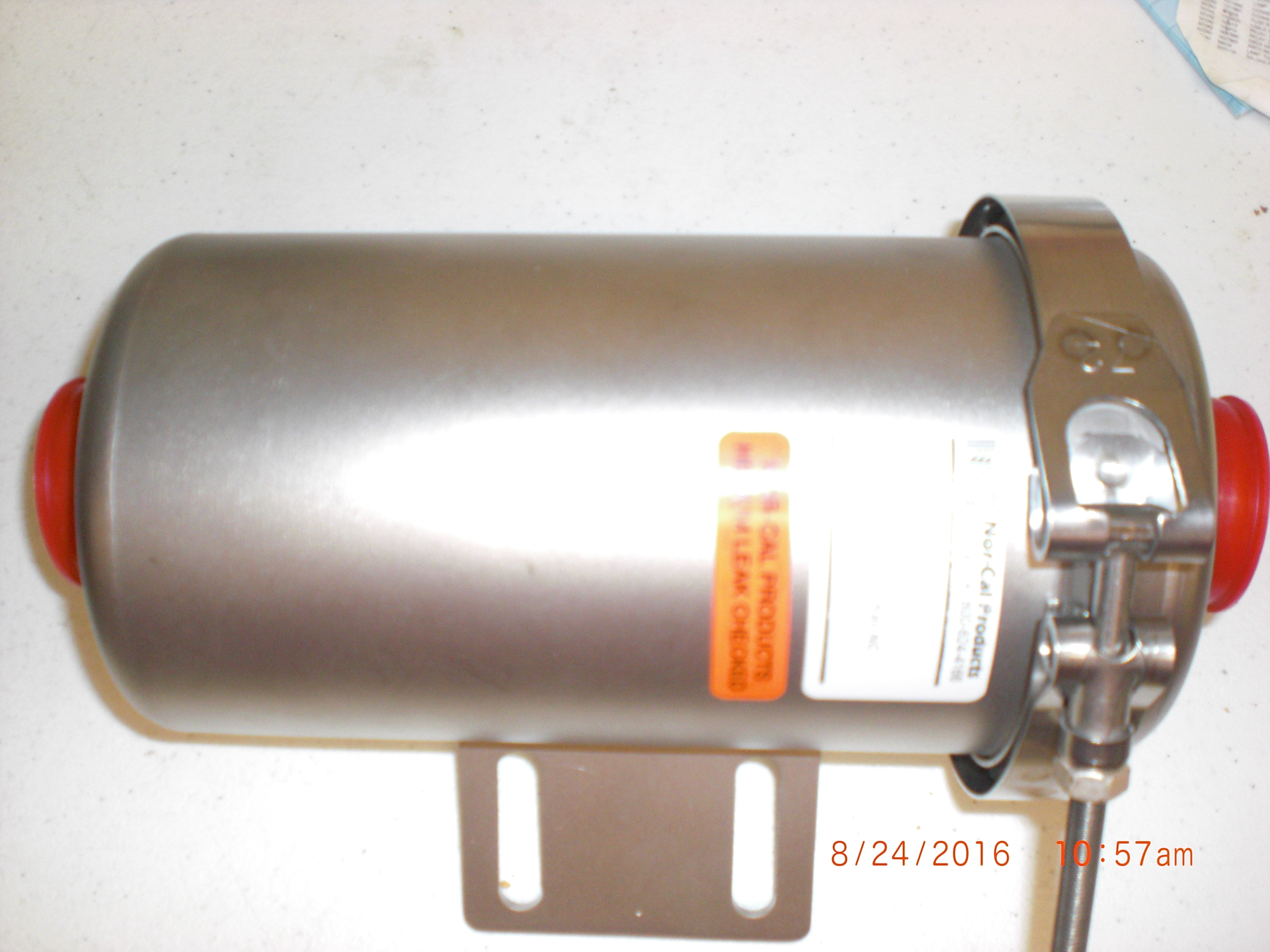 Filter  Vacuum Line Trap KF25 SS  NOR-CAL  00109-3 V