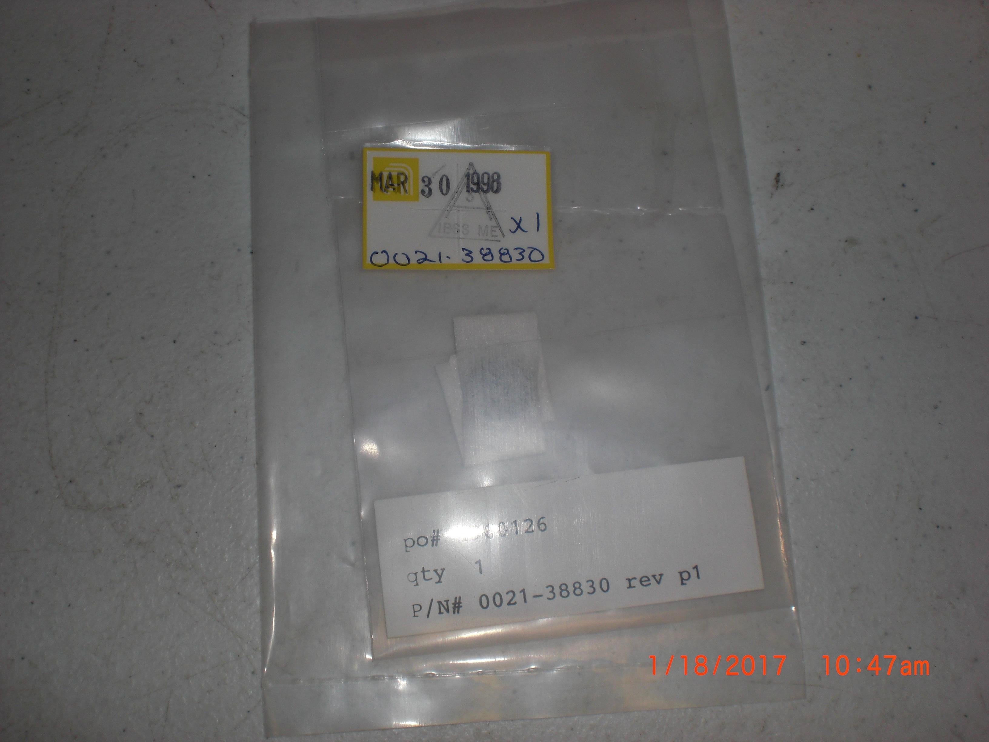 Bearing  (AMAT) 0021-38830 PLASTIC, CASSETTE HANDLER CENTUR