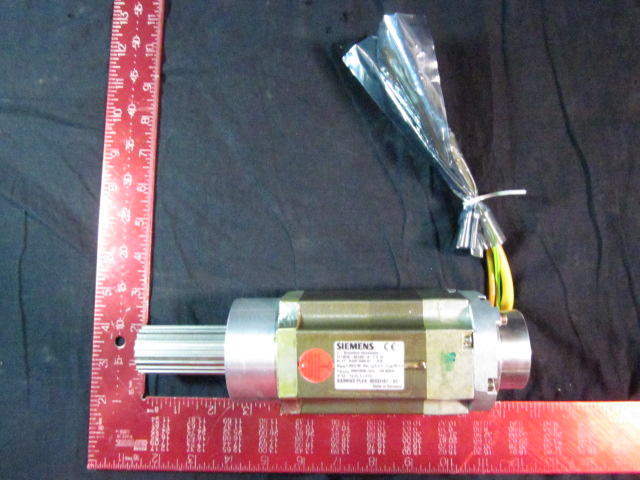 Motor  Brushless servomotor 1600 to-3000 RPM SIEMENS 1FT3035-6AZ99-9-Z   Schlumberger Systems 00333167S03