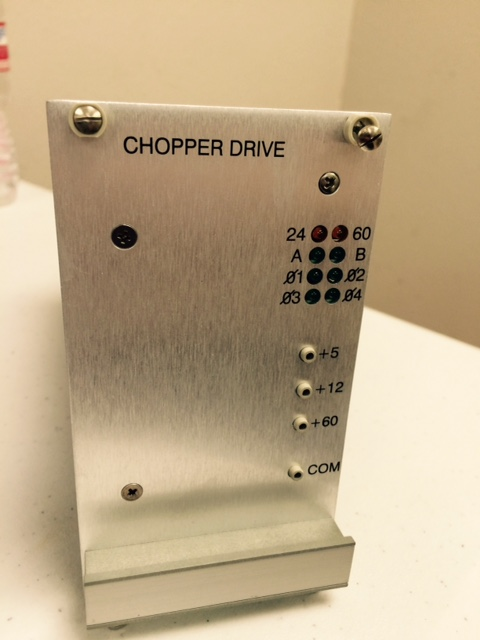 Controller APPLIED MATERIALS (AMAT) 0100-00011 w PWB, CHOPPER DRIVE I