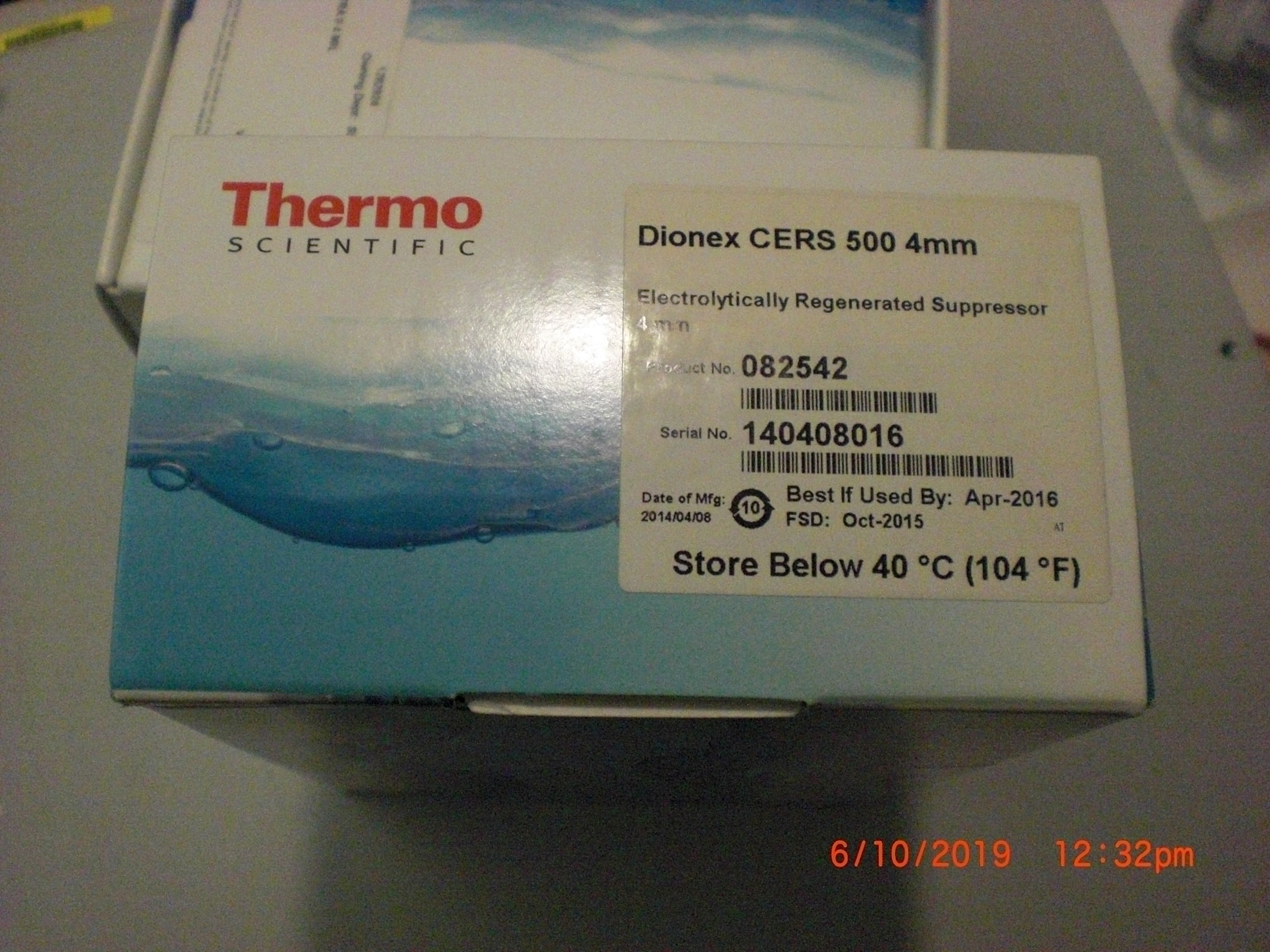 Sensor THERMO SCIENTIFIC 082542 Dionex CERS 500  4mm