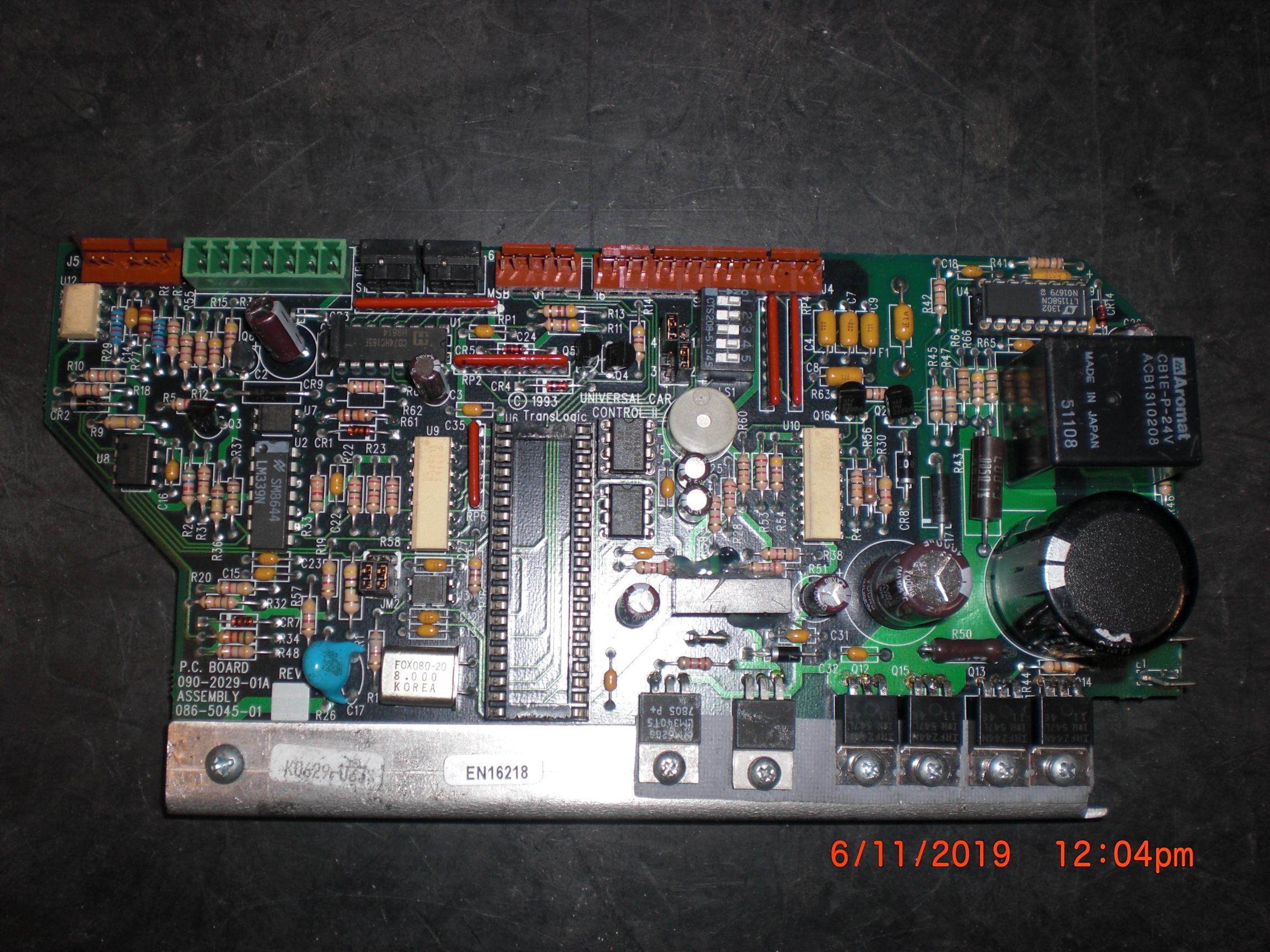PCB TRANSLOGIC 086-5045-01 CAR Board