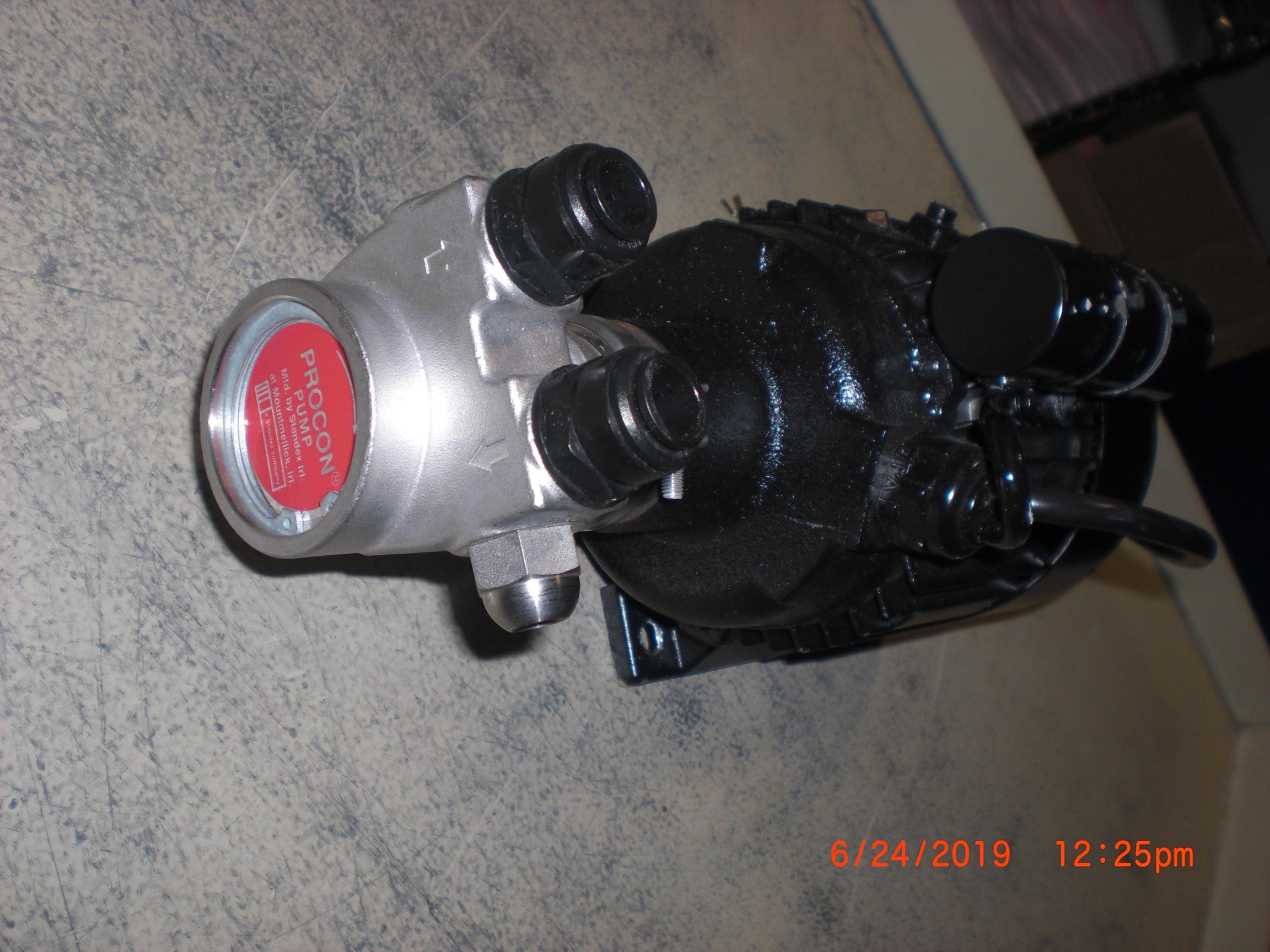 Pump PROCON 113A100F31BB130 SS 100GPH with Motor 230VAC