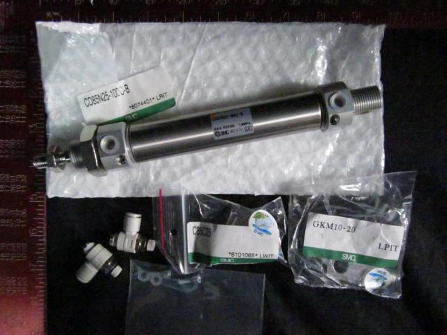 Cylinder SMC 135572 ACTUATOR Kit  SMC D = 25 L = 100 CD85N25-100C-B  GKM10-20 LPIT, C85C25 *6101065* LWIT