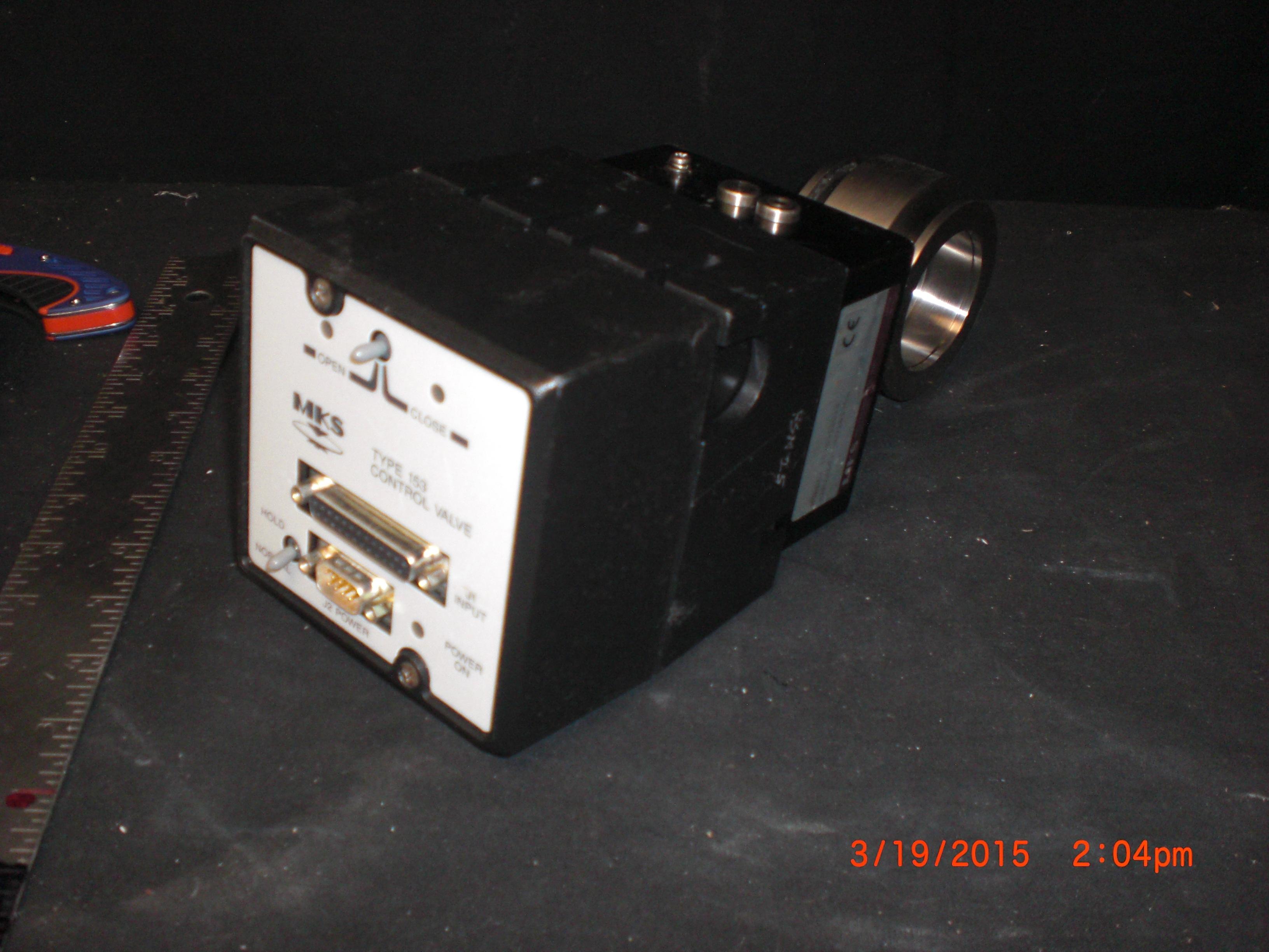 VALVE MKS  153D-12018Type 153 Control  Valve, Throttle KF50