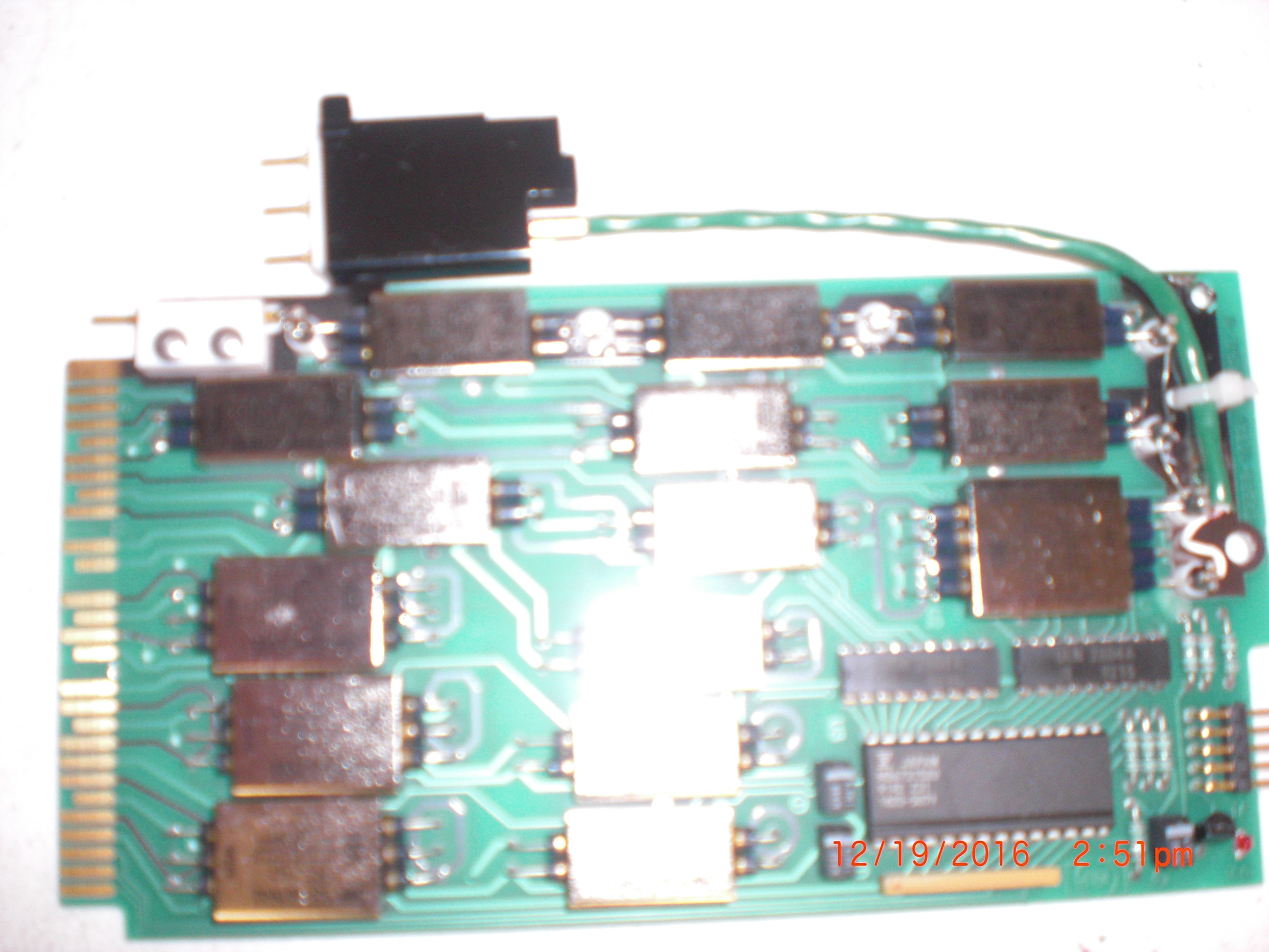 PCB Relay Pin Card HP/Agilent 16320-66551