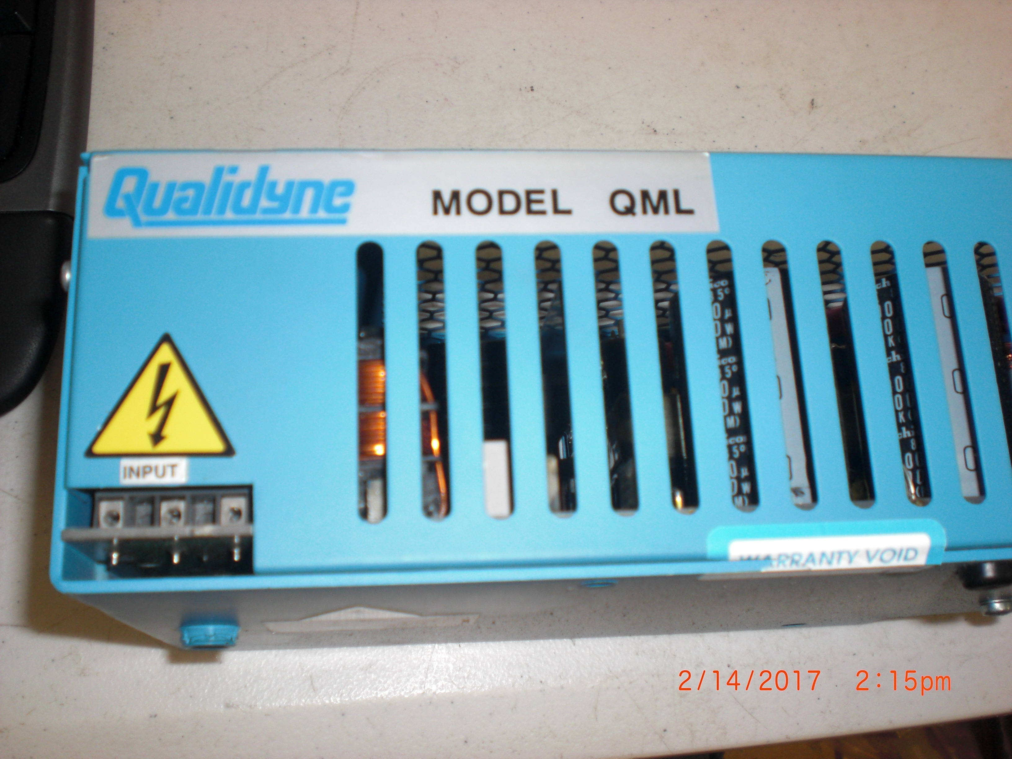 Power Supply  Qualidyne 189104ML3AAA0A-438 QML300-081