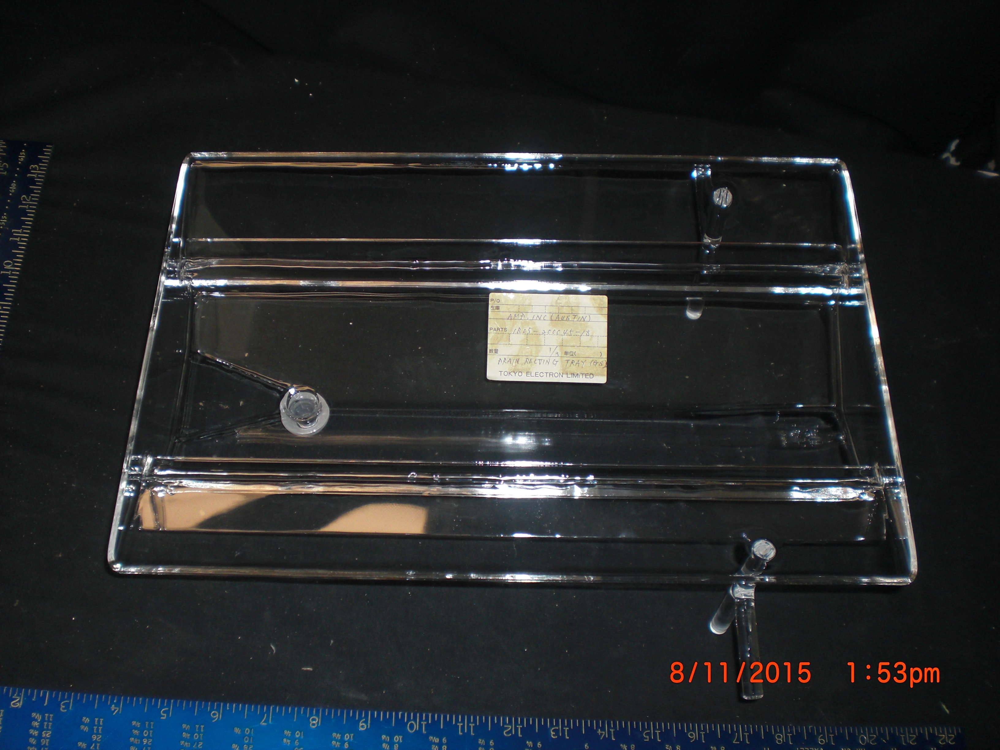 Quartz (TEL) ES1B05-200045-13 Drain Receiving Tray  GS Quartz
