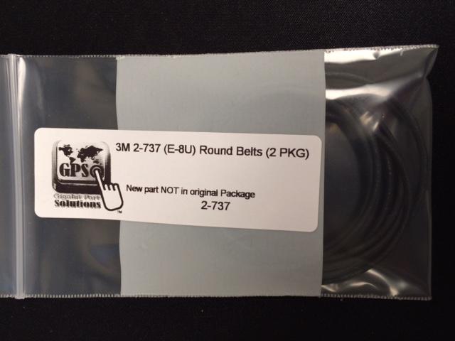Belt  Round  (2 PKG) 3M 2-737 (E-8U)