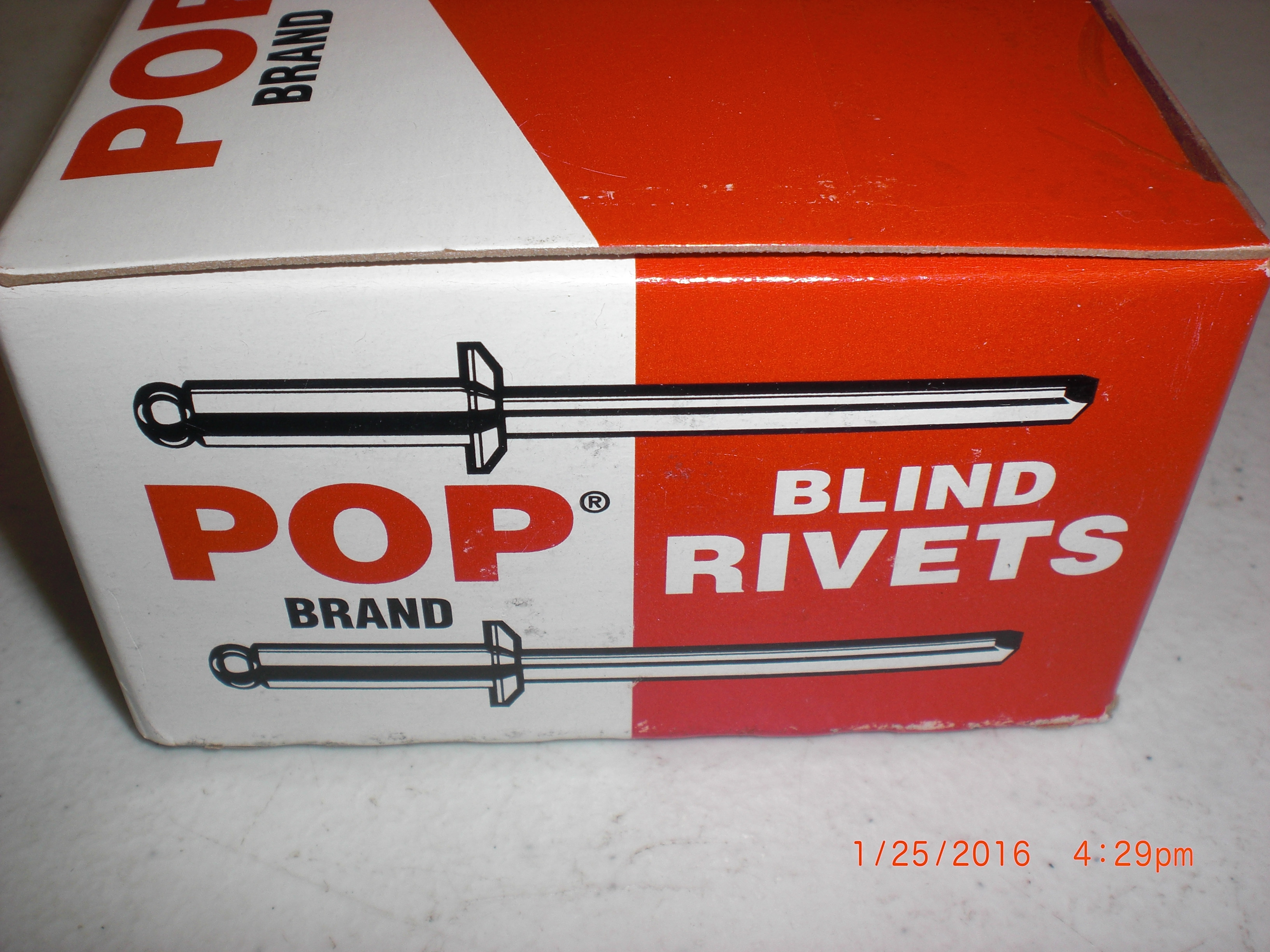 multi gr pop inch itm blind g blinds rivet loading image is