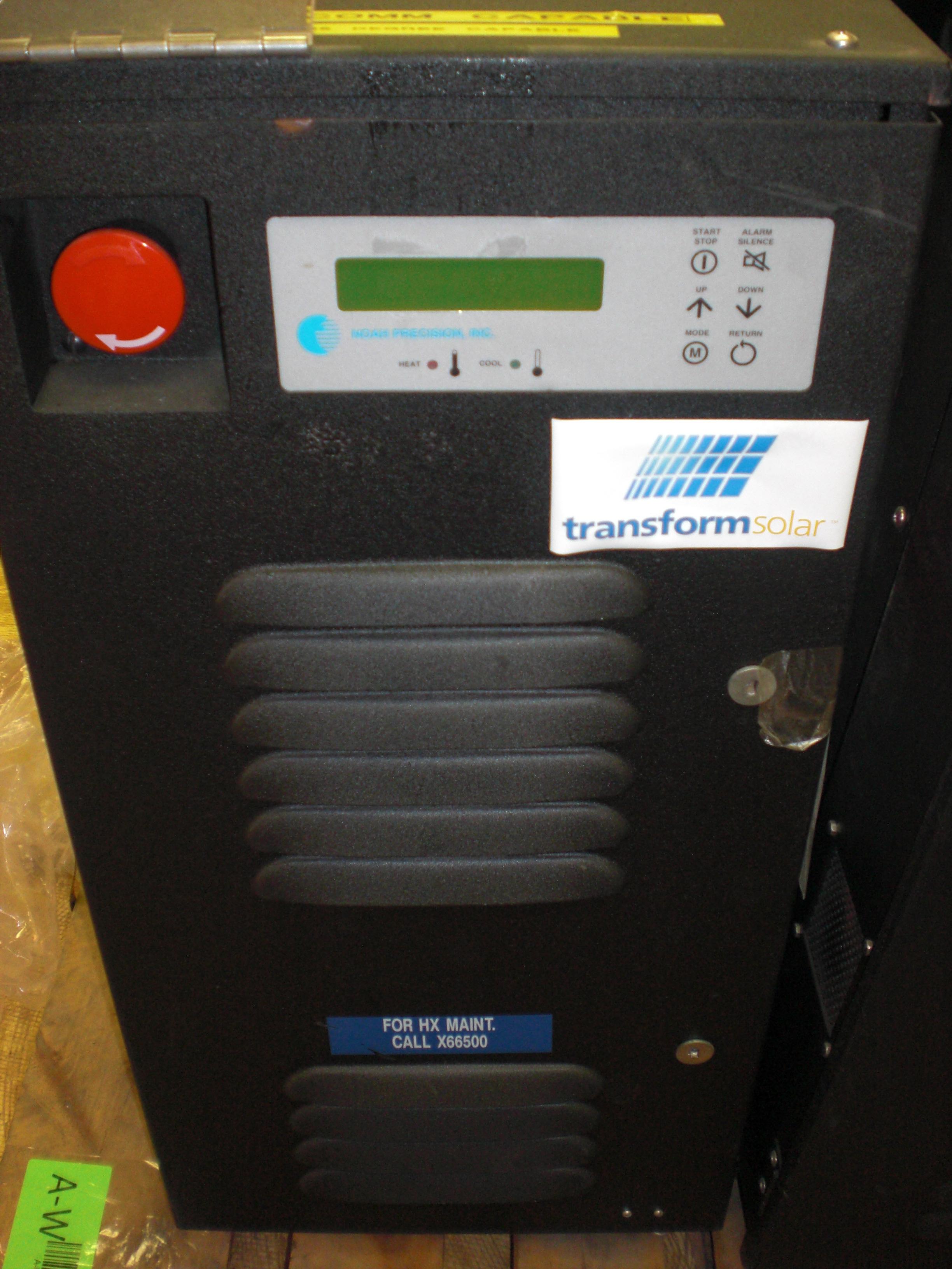Chiller Thermoelectric Recirculating TCU with DI option Noah Precision 2015