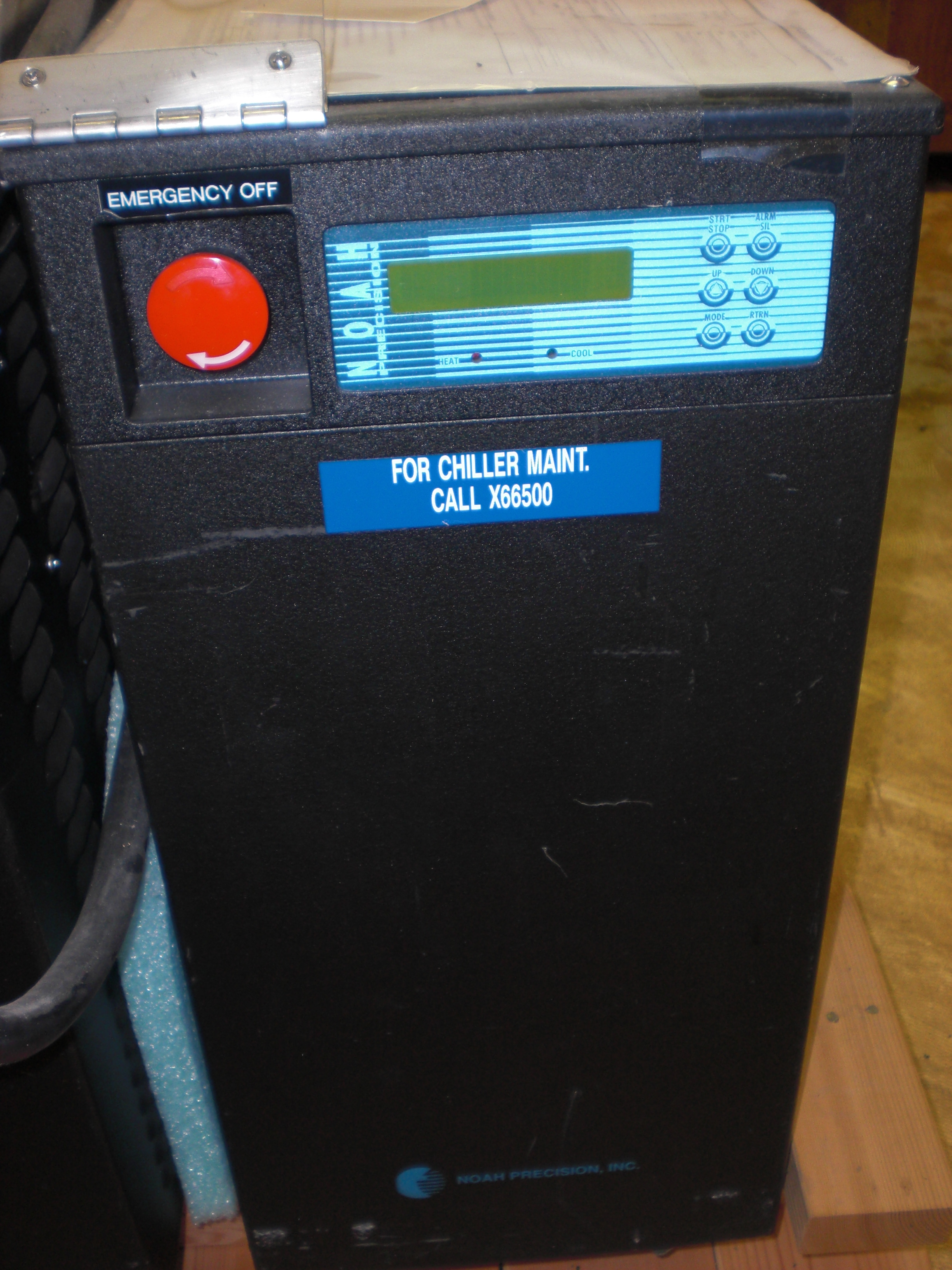 Chiller Thermoelectric Recirculating TCU  with DI option Noah Precision 2020