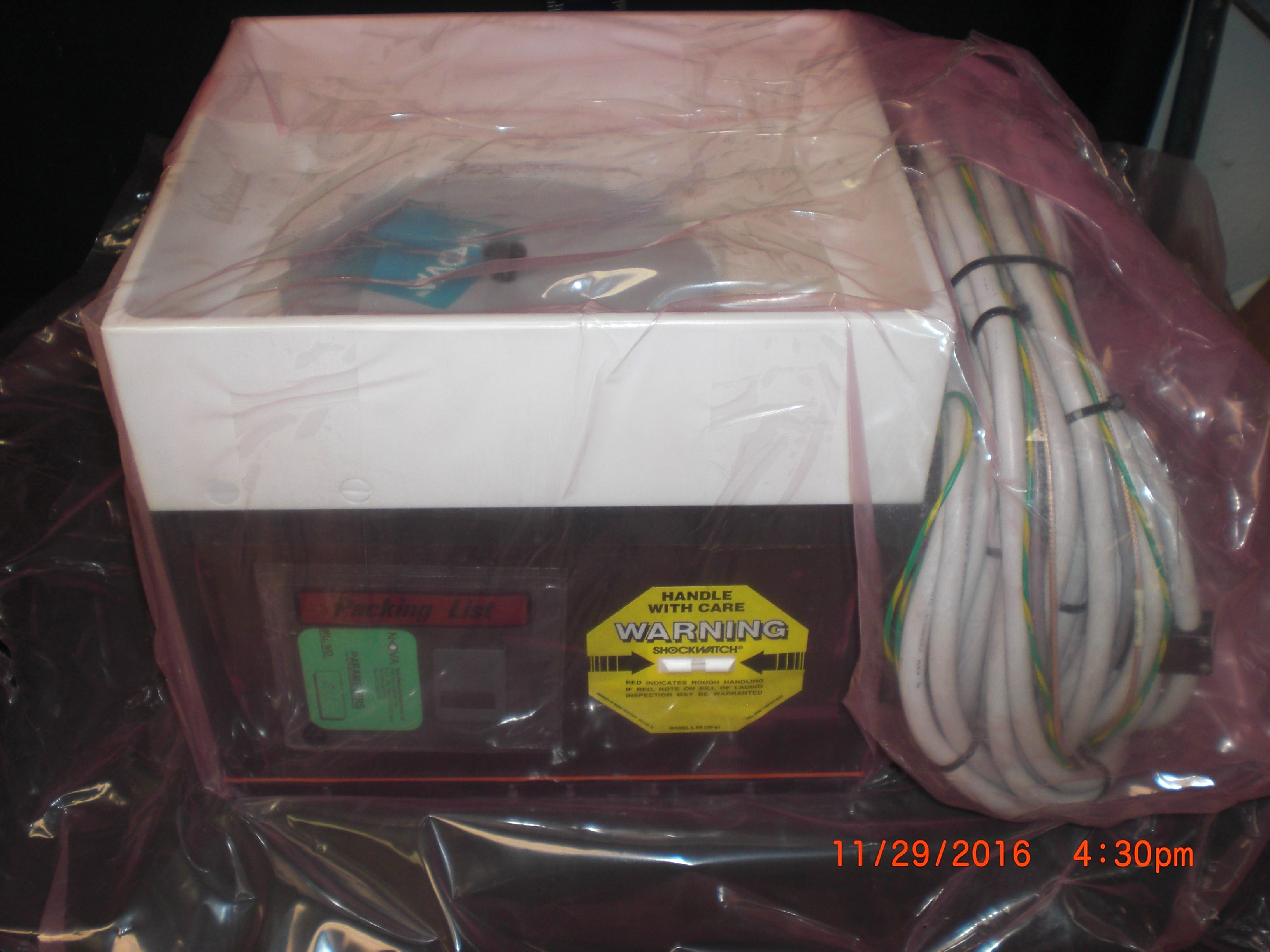 Controller NOVA 210-10000-02 Measurement Unit Novascan 420 SN842 with disc