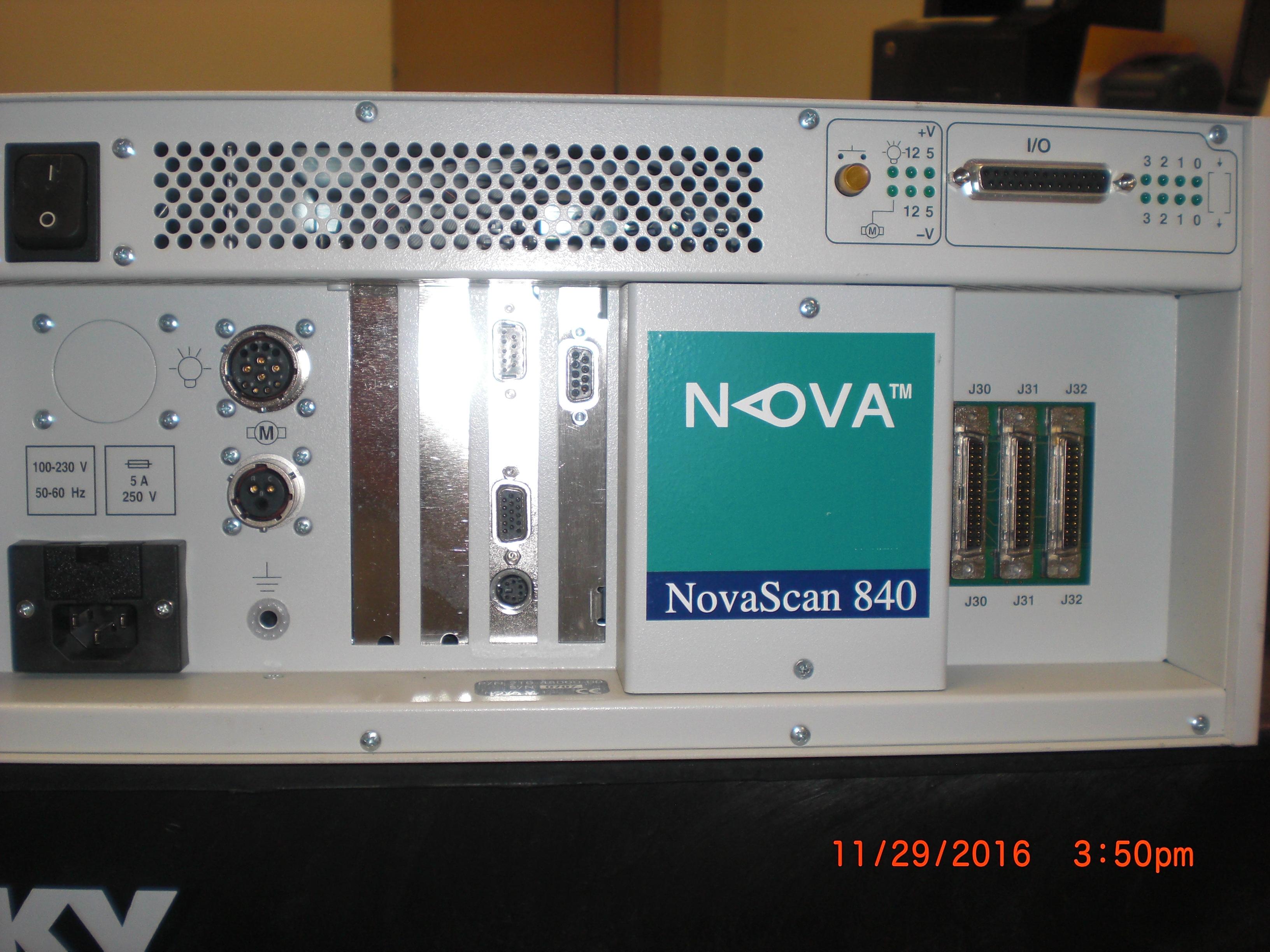Controller NovaScan 840  AMAT 0190-77284  NOVA 210-4800-01 sn0707