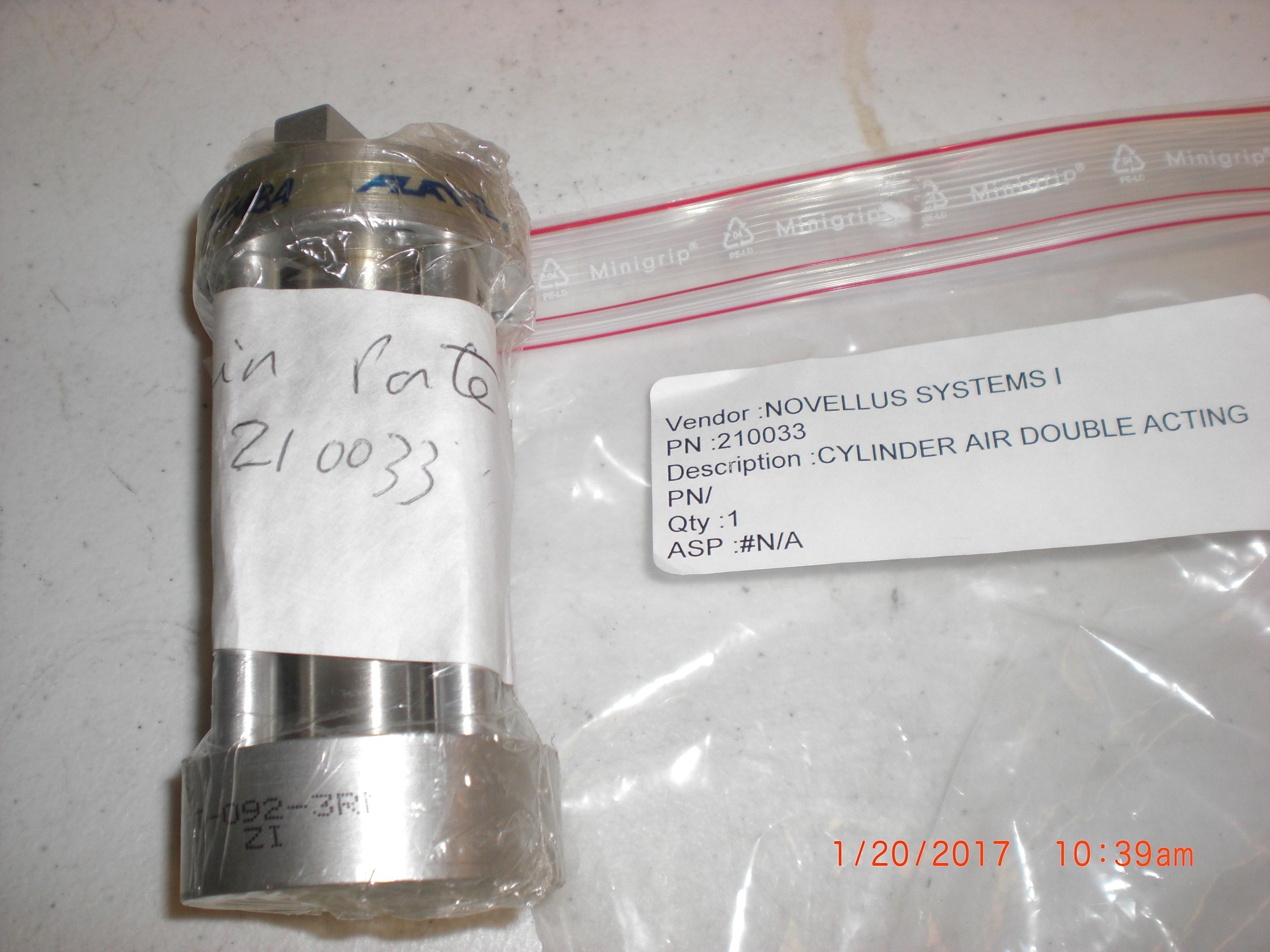 Actuator BIMBA FT-092-3RM Novellus 210033 FLAT II dual action cylinder
