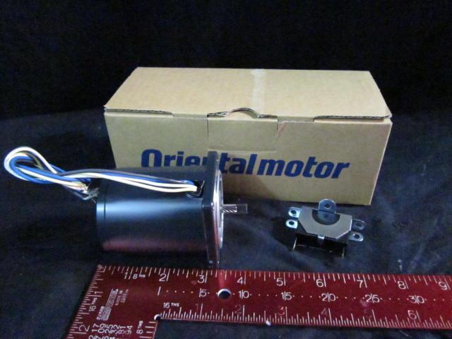 Motor  ORIENTAL MOTOR 21K6GN-C INDUCTION MOTOR 6W, 200V 0.15A, 0.7uF, 1200/1500RPM