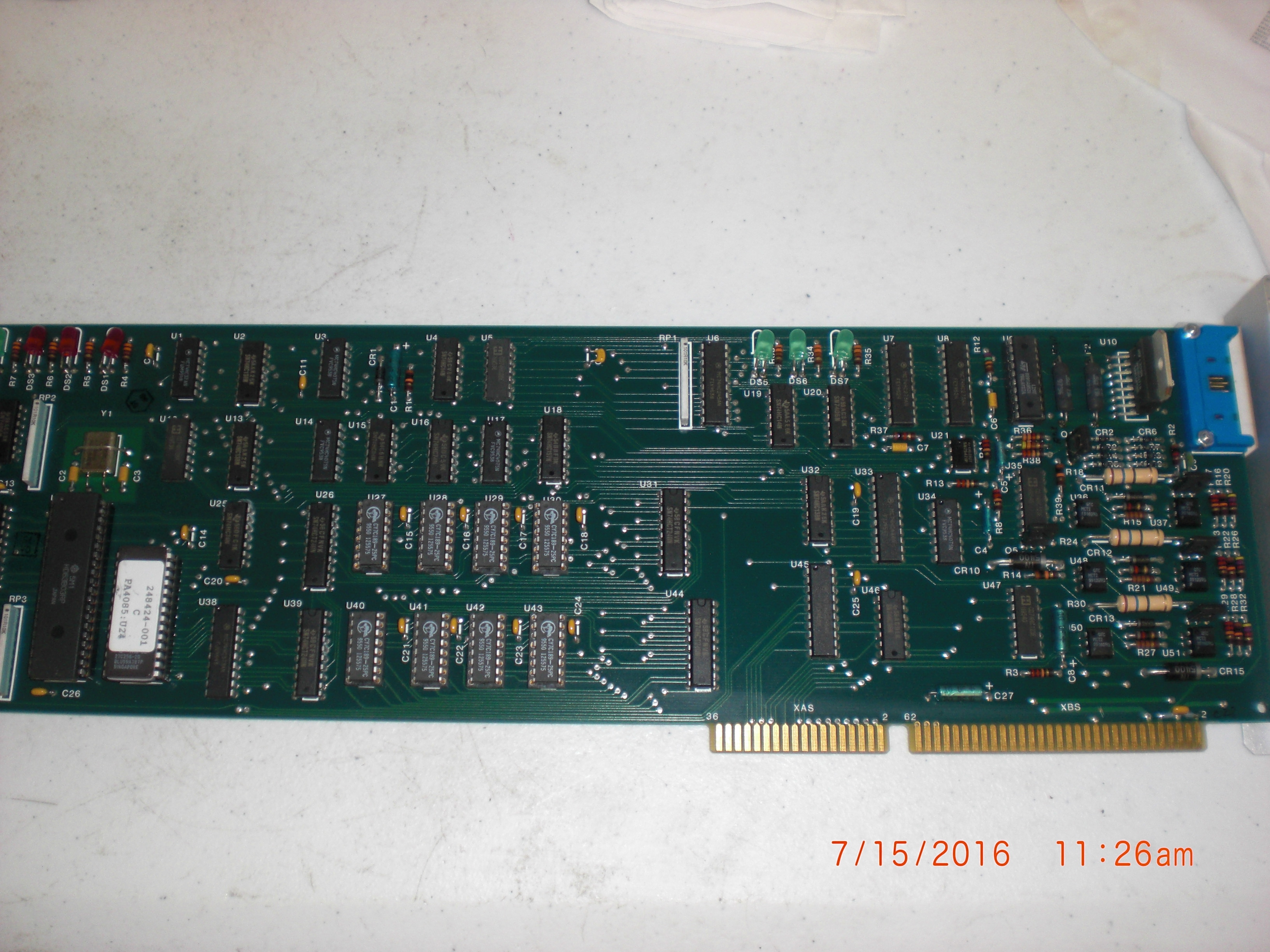 PCB Pre-align subsystem assy ELECTROGLAS 247219-002
