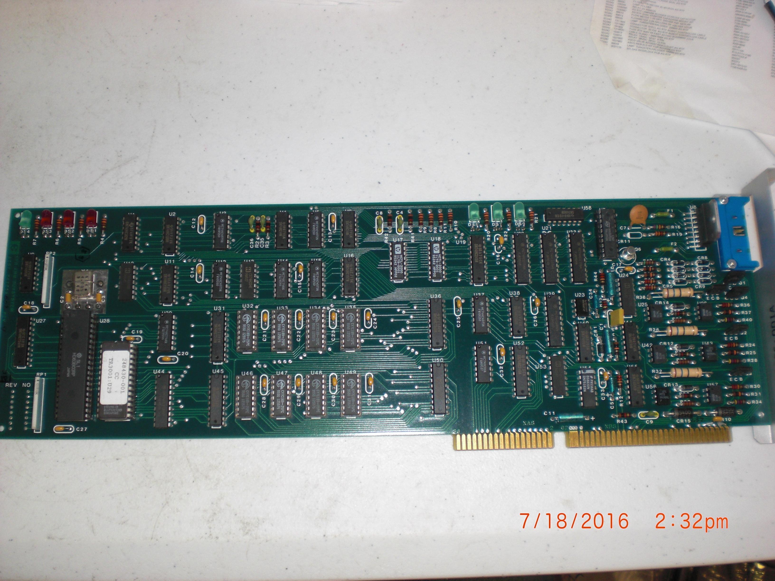 PCB XFR Arm Subsystem ELECTROGLAS 247225-002