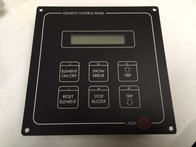 Controller ASM 2600315-01 ELEMENT CONTROL PANEL parts unit