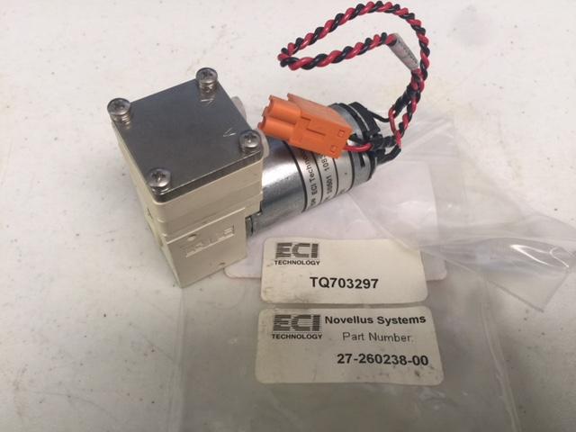 Pump ECI TECHNOLOGY TQ703297 NOVELLUS  27-260238-00 CU, VMS, PUMP, ASSEMBLY