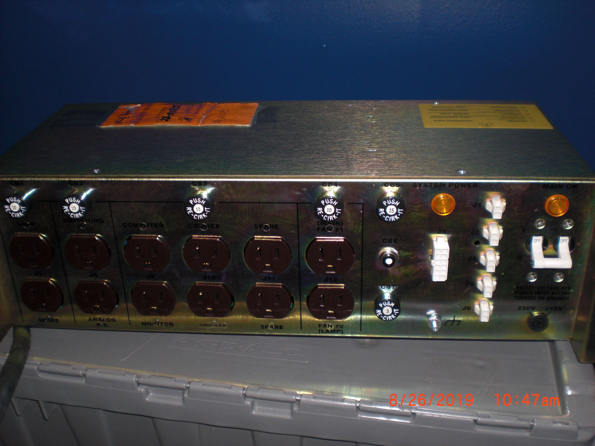Power Supply  Marway Power Systems MPD 41946-002 KLA / TENCOR 28-0125 power distribution