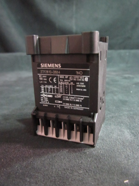 Electrical CONTACTOR SIEMENS 3TF2810-0BB4