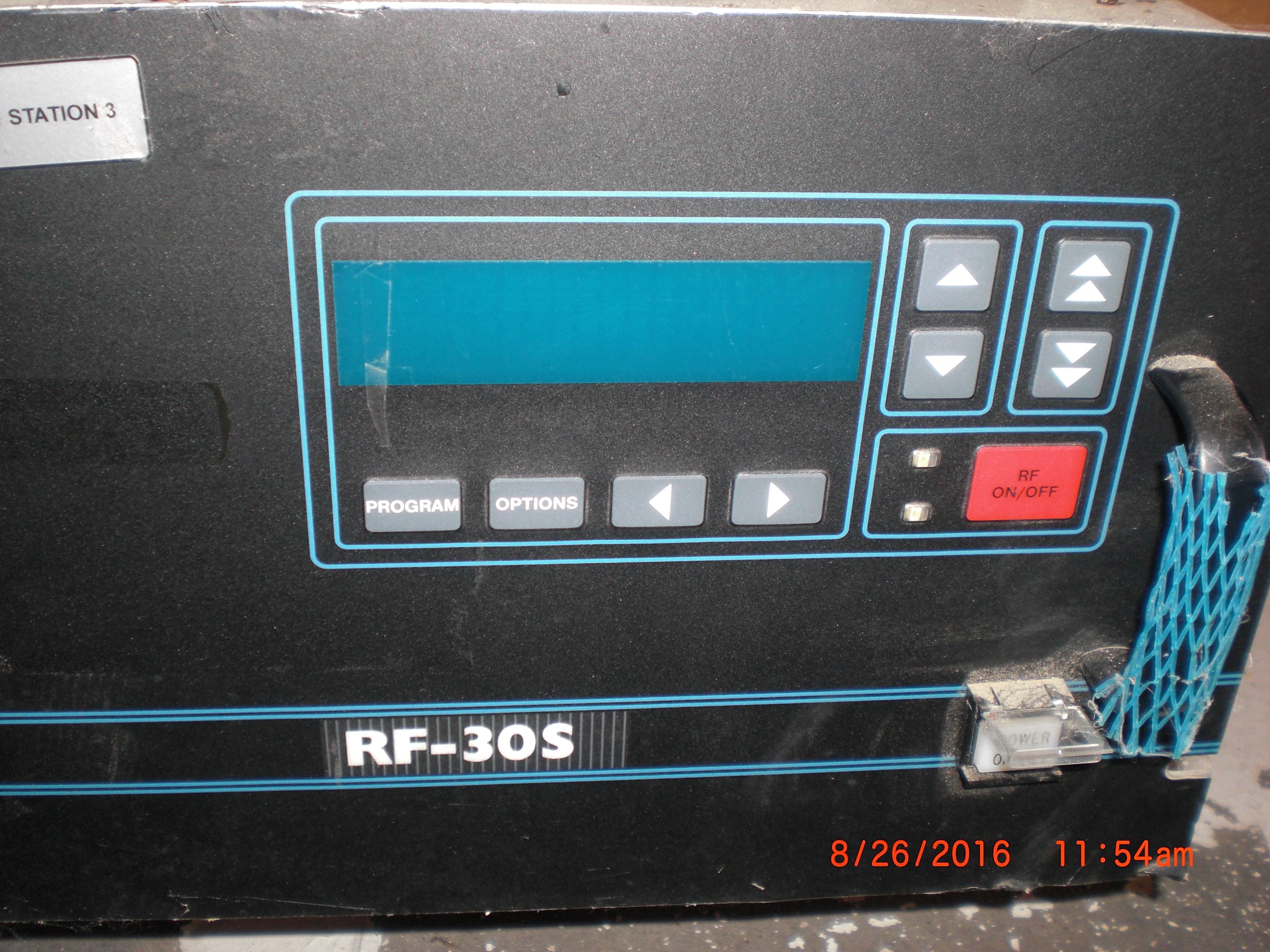RF Systems ADVANCED ENERGY 3150017-028 RFPP RF-30S 3000W 13.56MhZ