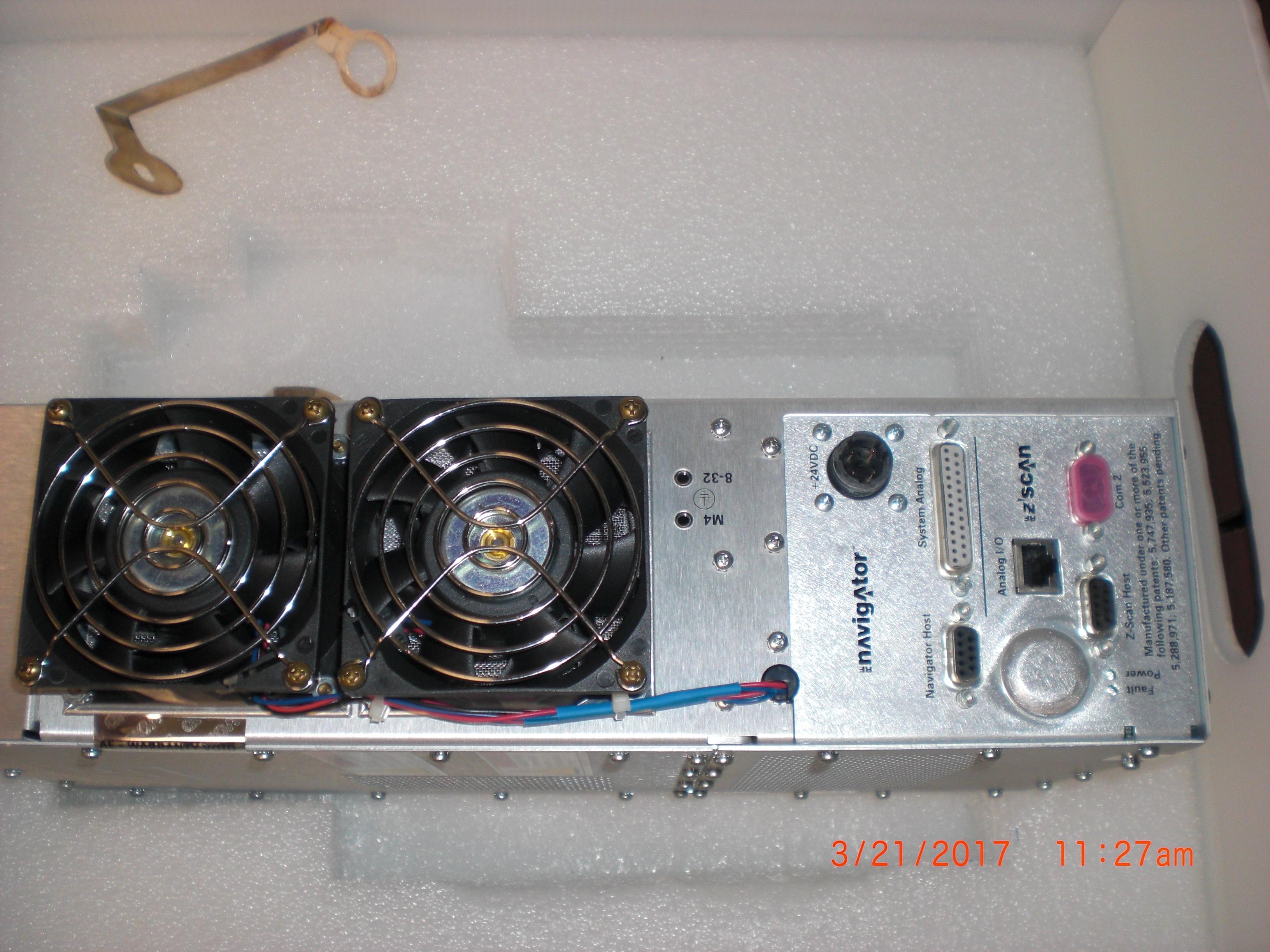 RF Systems AMAT 0190-27187  (AE) 3155166-012 Navigator  RF Match w/RF ZScan