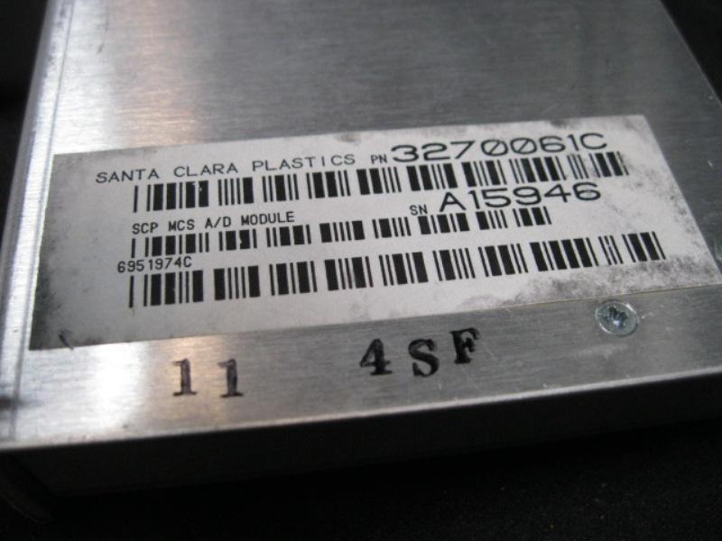 Controller SCP GLOBAL 3270061C Controller MCS A-D MOD