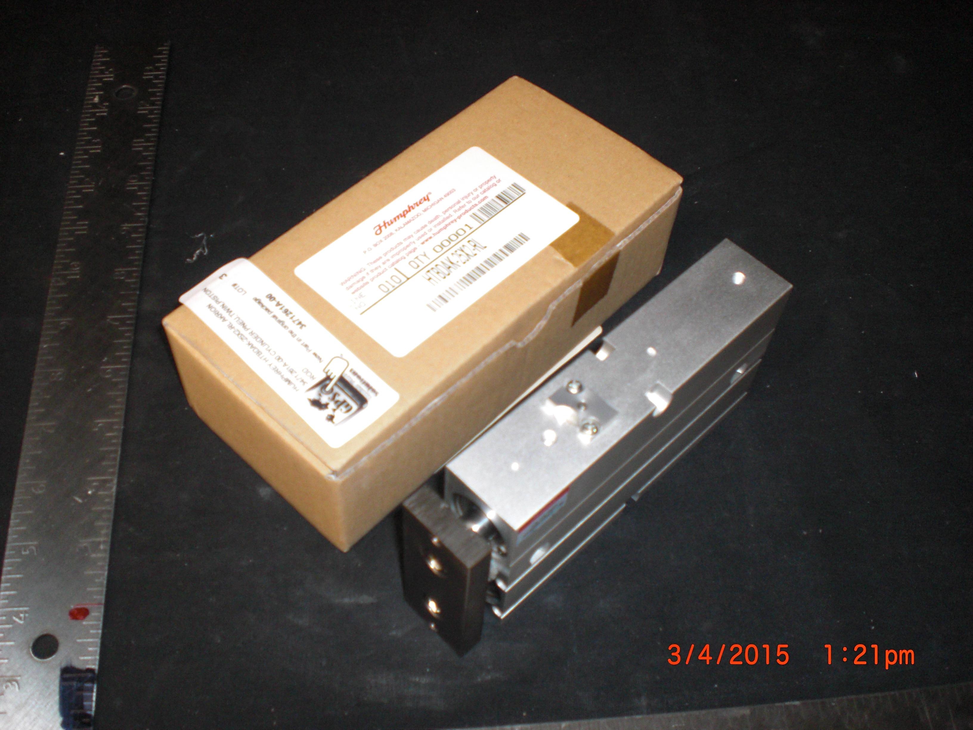 Actuator CYLINDER.PNEU,TWIN,PISTON ROD HUMPHREY HTBDAK-25X2-RL AKRION 3471261A-00