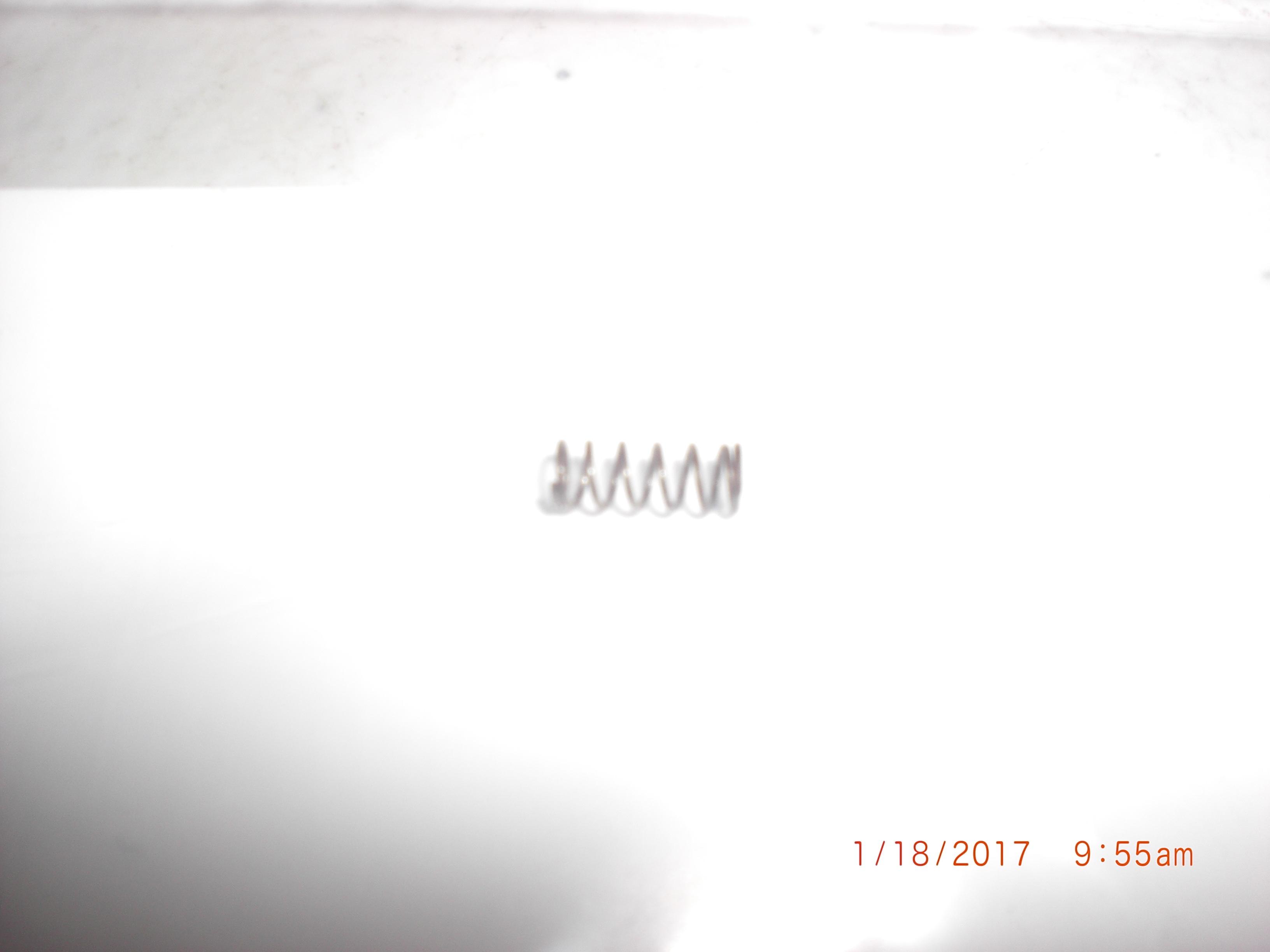 Spring (AMAT) 3780-01215 SPR CPRSN .310FL X .12OD X .014W-DIA MUS