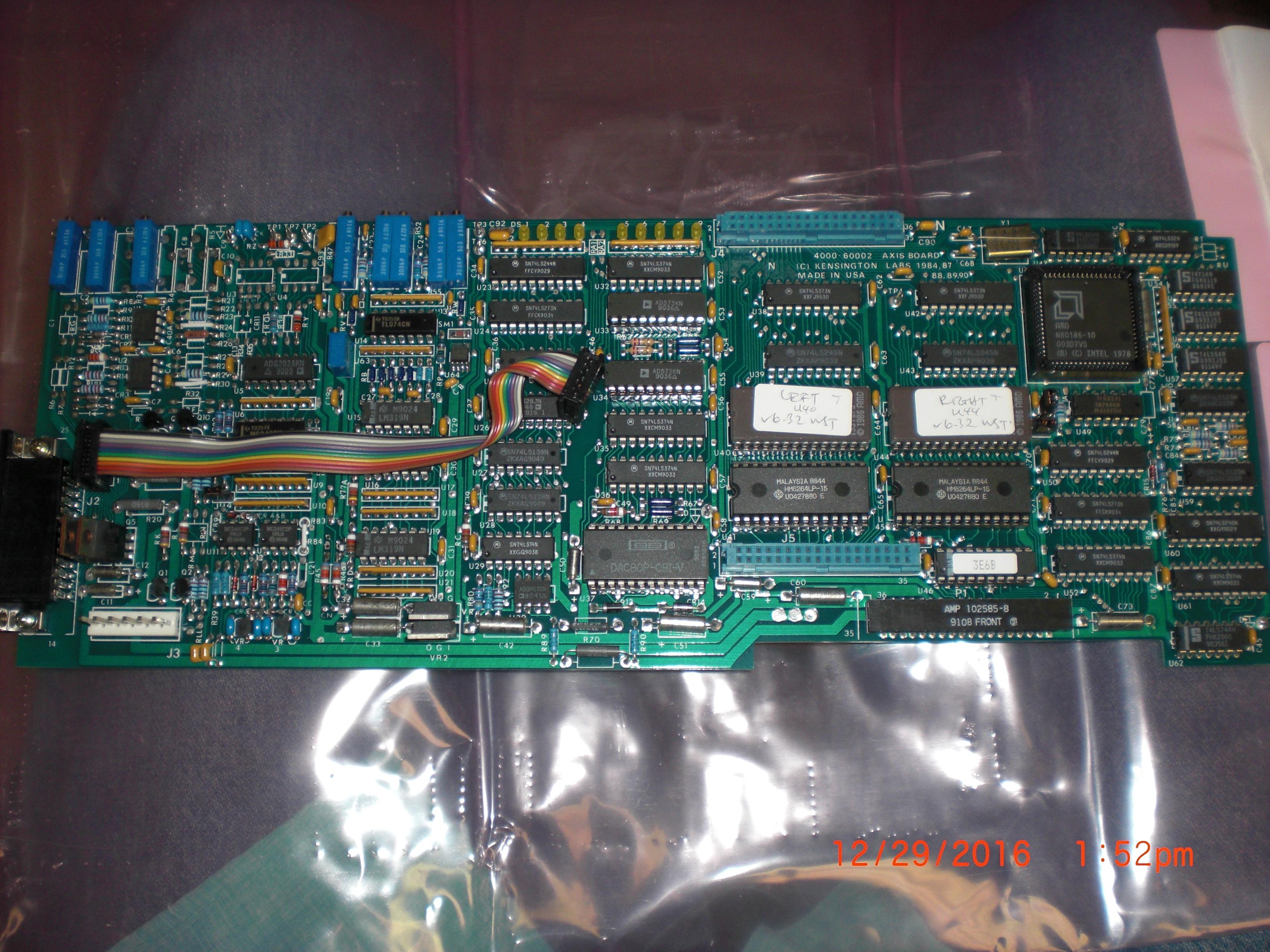 PCB Waist axis KENSINGTON 4000-60002-01