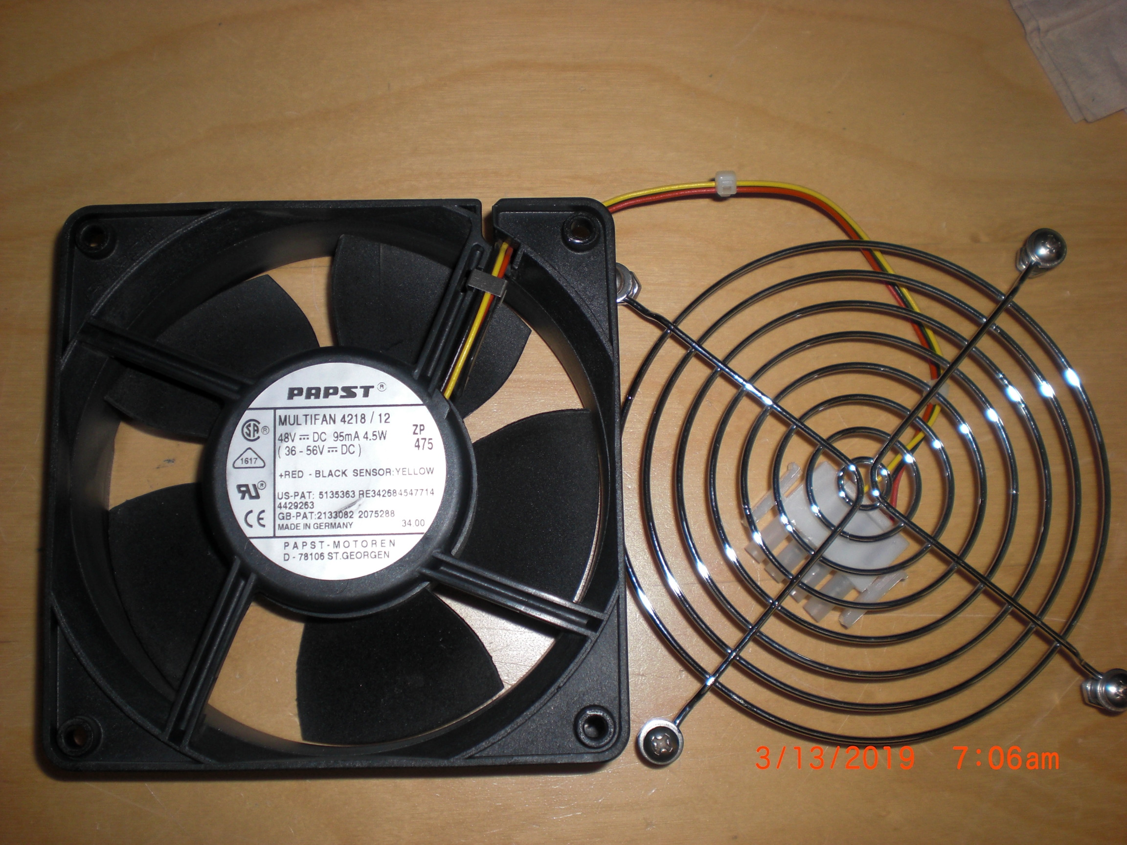 Fan  100V SANYO DENIKI 109S475UL San Ace